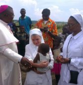 Visite des sœurs missionnaires de la bonne nouvelle à idiofa