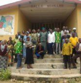 Le coordinateur Benjamin Kambembe rencontre les chefs d'établissement d'Idiofa centre !