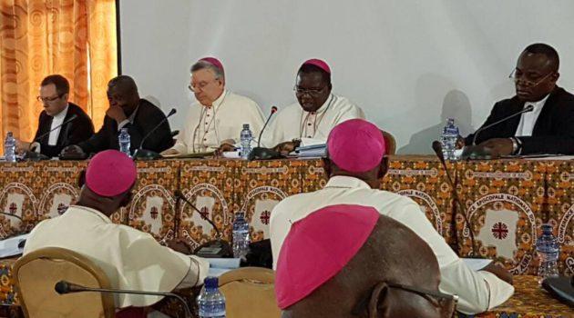 Ouverture de la 54ème session de l'assemblée plénière des évêques membres de la CENCO.