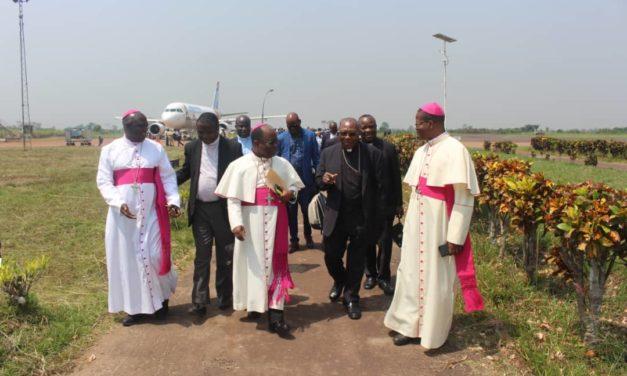 Prise de possession canonique de Mgr Ernest Ngboko: la délégation de la CENCO déjà à Mbandaka!