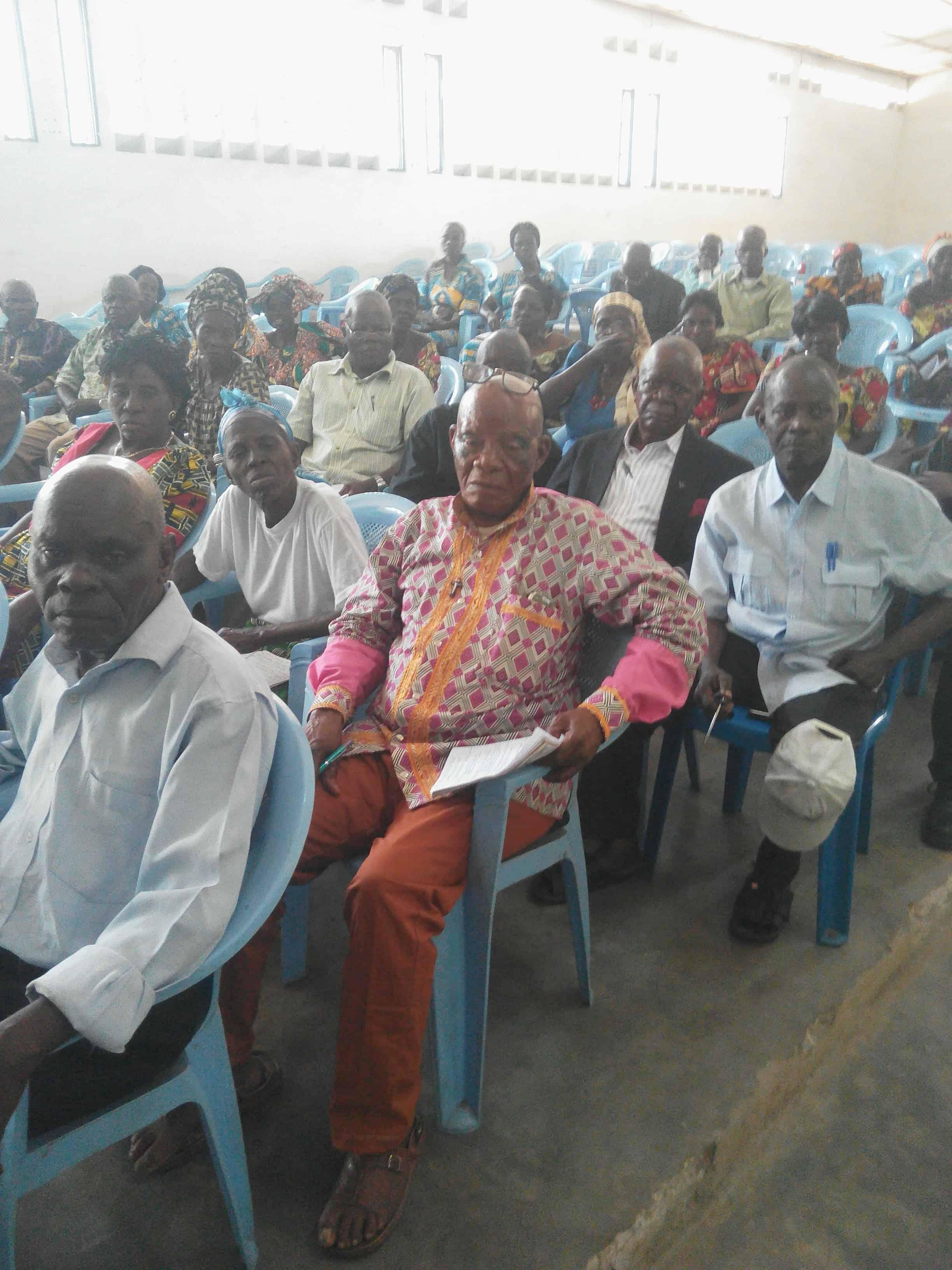 Le centre Pastoral diocésain forme les noyaux des C.E.V.B à Idiofa