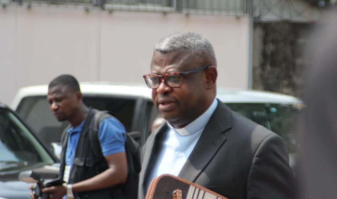 Abbé Nshole : « La Cenco n'est pas une plateforme politique »