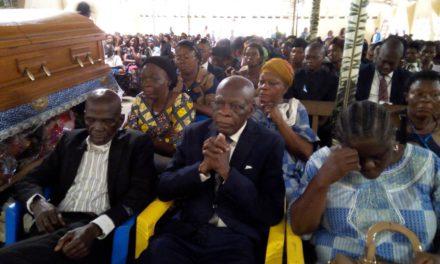 Messe de suffrage en faveur de la Maman Munkoko Hortense ce Mardi 24 octobre 2017