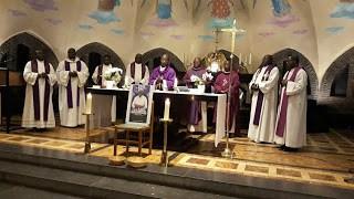 Obsèques de Monseigneur Léon LESAMBO