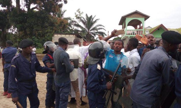 Marche des chrétiens à Idiofa ce 25 février : la police déborde !