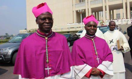 Mgrs KWAMBAMBA et BAFUIDINSO nommés évêques de Kenge et d'Inongo par le Pape François.