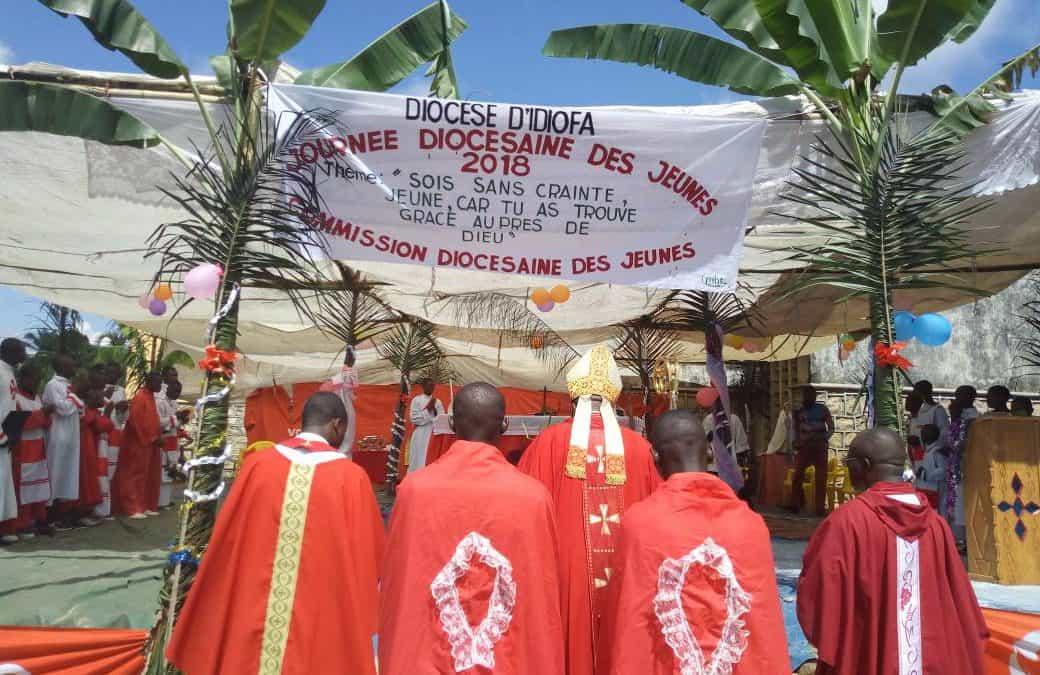 Journées diocésaines des jeunes à Idiofa 2018: Mgr José Moko appelle la jeunesse au courage et à ne pas avoir peur !