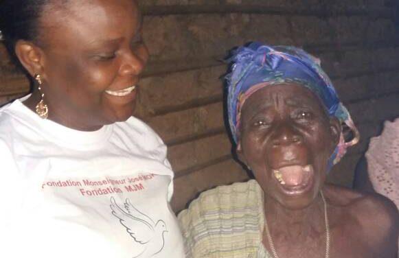 Quand faire du bien sans relâche  donne du sourire d'espoir !