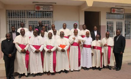 Mot de Mgr Utembi à l'ouverture du Comité Permanent Ordinaire de juin 2018.