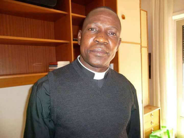 Les funérailles de Monsieur l'abbé Polycarpe Ondang Nda dada.