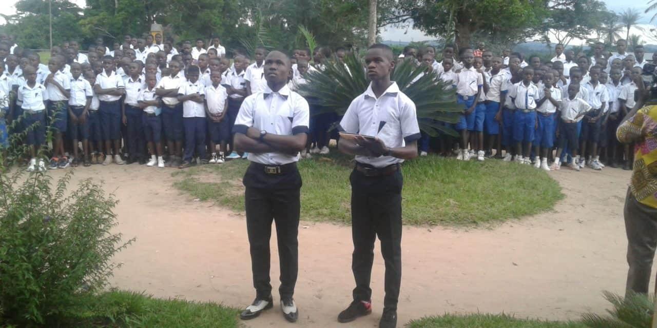 Petit séminaire de Laba: Monseigneur José Moko ouvre officiellement l'année scolaire 2018-2019!