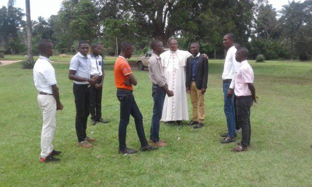 Les petits séminaristes de Laba ont eu une retraite de discernement.