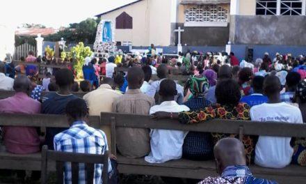 Les Chrétiens de Mangai Sacré-Cœur ont prié pour la Paix en RDC!