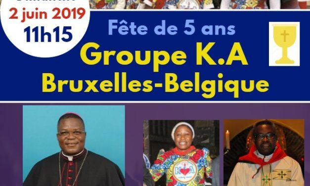 Les Kizito Anuarite de la Belgique invitent Mgr José Moko !
