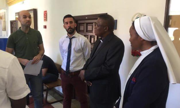 Monseigneur José MOKO a visité l'Université Catholique de Murcia !
