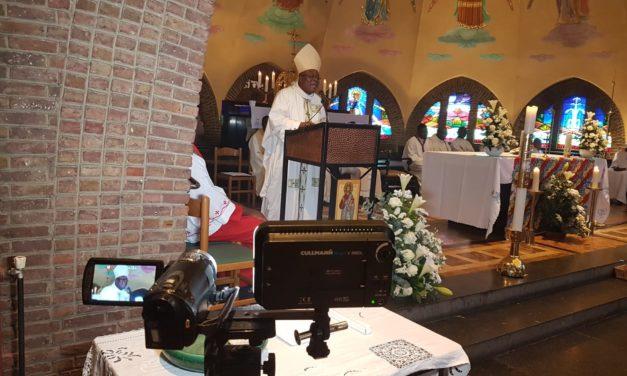Monseigneur José Moko a célébré les 5 ans des Kizito-Anuarité en Belgique !