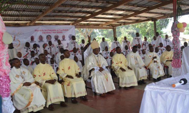 Le diocèse d'Idiofa a fêté la dixième année de l'épiscopat de son Évêque !