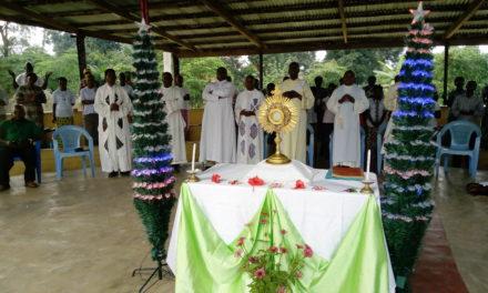 Le diocèse d'Idiofa a organisé un camps Eucharistique
