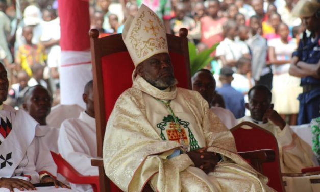 Monseigneur Ernest Gboko a pris possession de l'archidiocèse de Mbandaka-Bikoro!