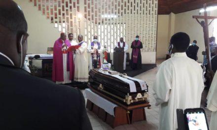 L'abbé Dosithée ATAL a été mis en terre au cimetière de Saint Kaggwa à Kinshasa