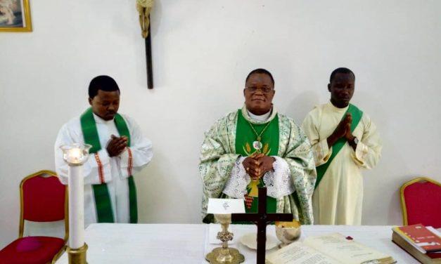 Heureux Anniversaire à Monseigneur José Moko Ekanga!