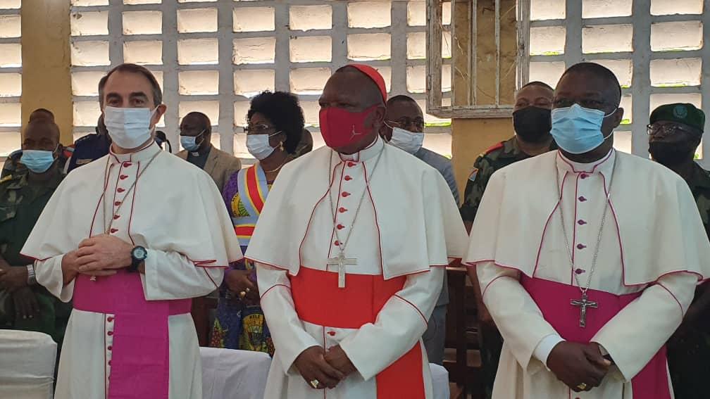 Monseigneur José Moko, vice Président de la CENCO est à BOMA!