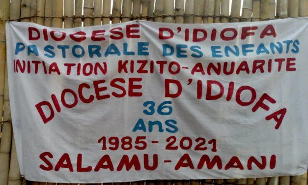 Les Kizito et Anuarité du diocèse d'Idiofa ont célébré leur jubilé de rubis!